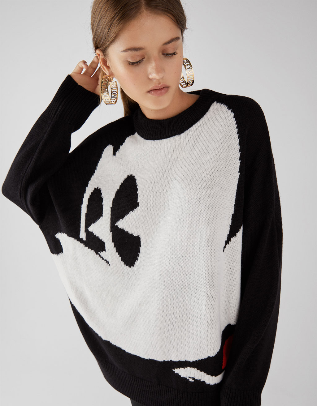 Oversized Mickey Mickey Mouse jumper
