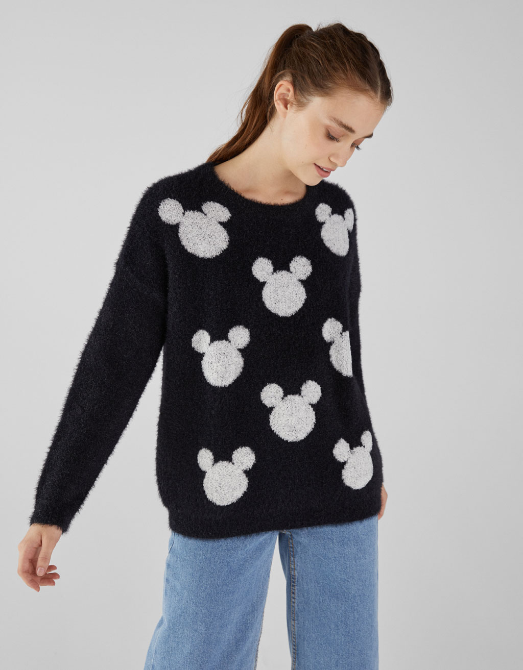 Mickey fuzzy sweater