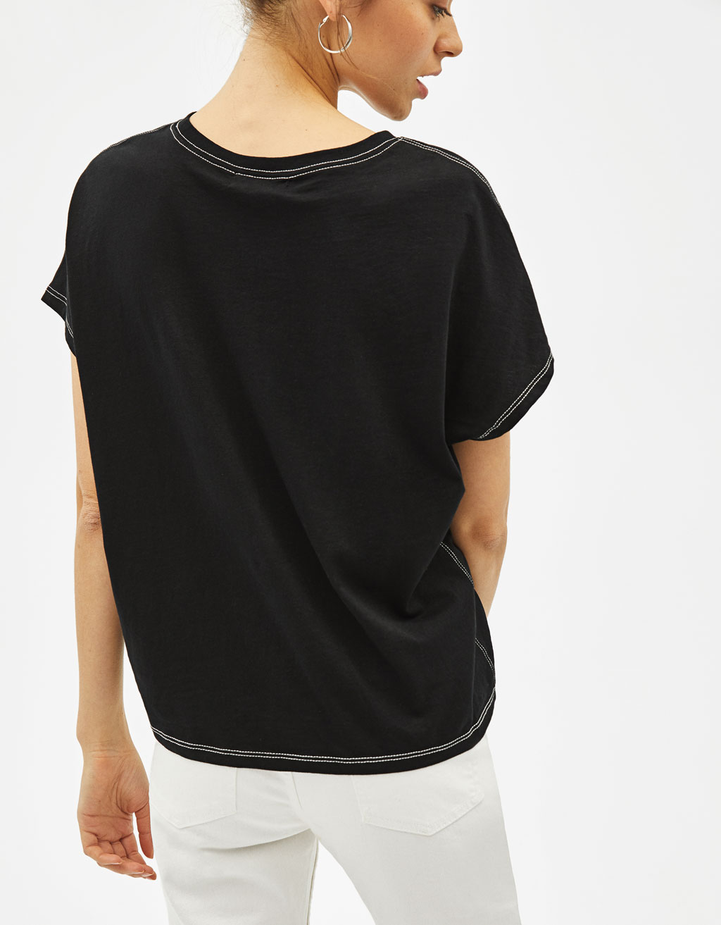 a984213df1 Join Life T-shirt with pocket and contrasting seams