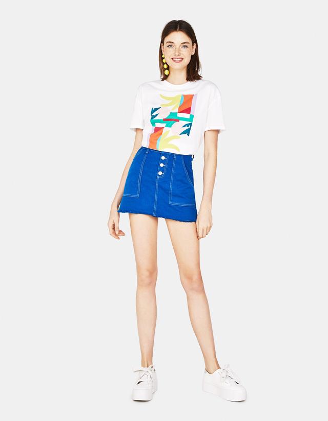 Shirt mit Print Join Life