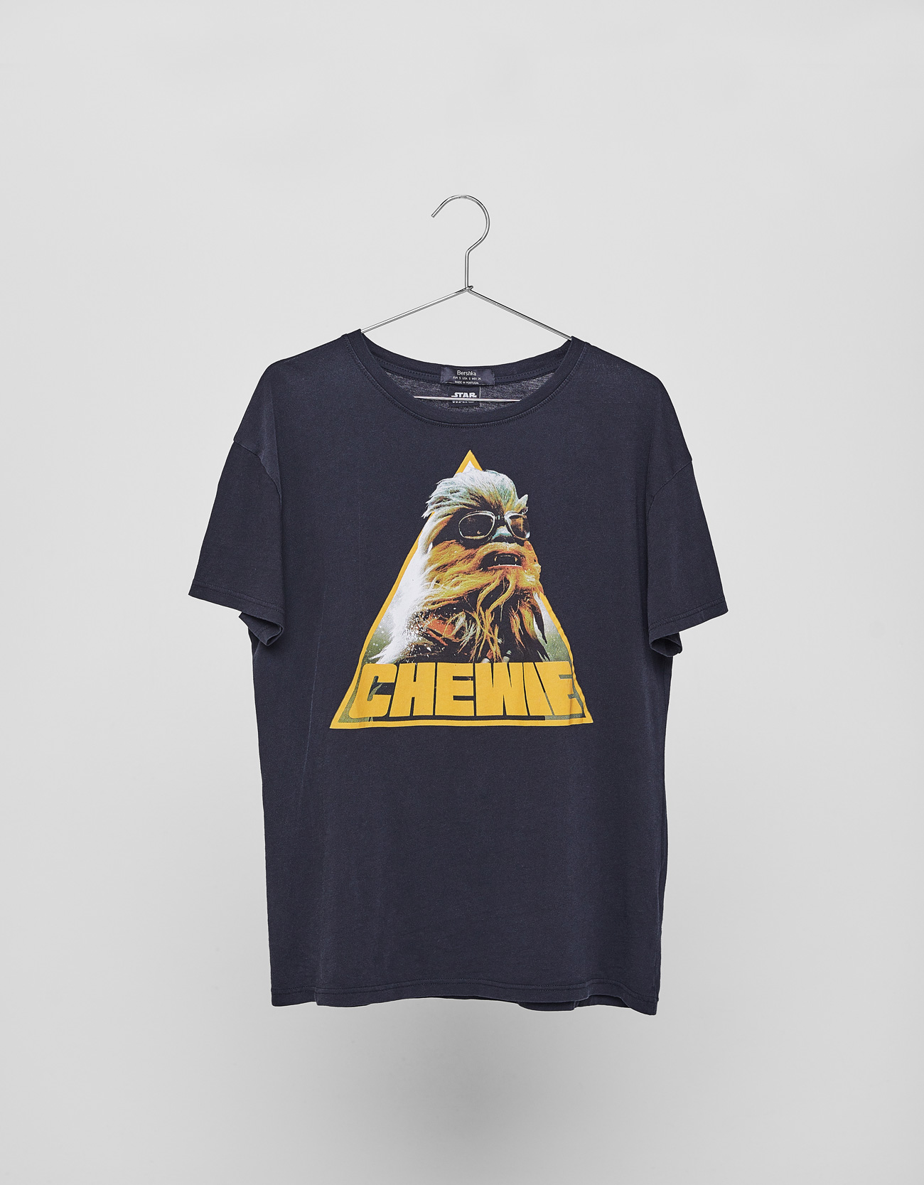 Star Wars Chewie T Shirt Clothing Bershka Bosnia And Herzegovina