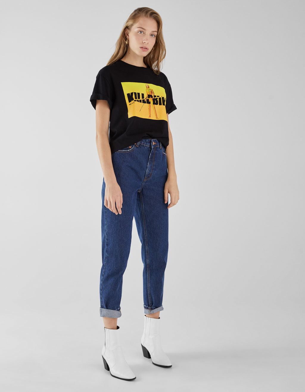 23345df57e2 Kill Bill T-shirt - With slogan - Bershka Serbia