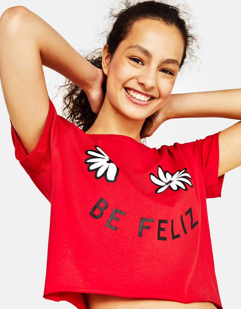 Camiseta con estampado Join Life