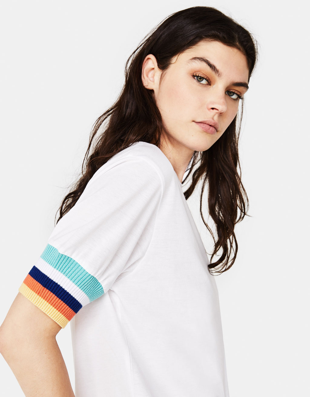 Shirt Mit Streifen by Bershka