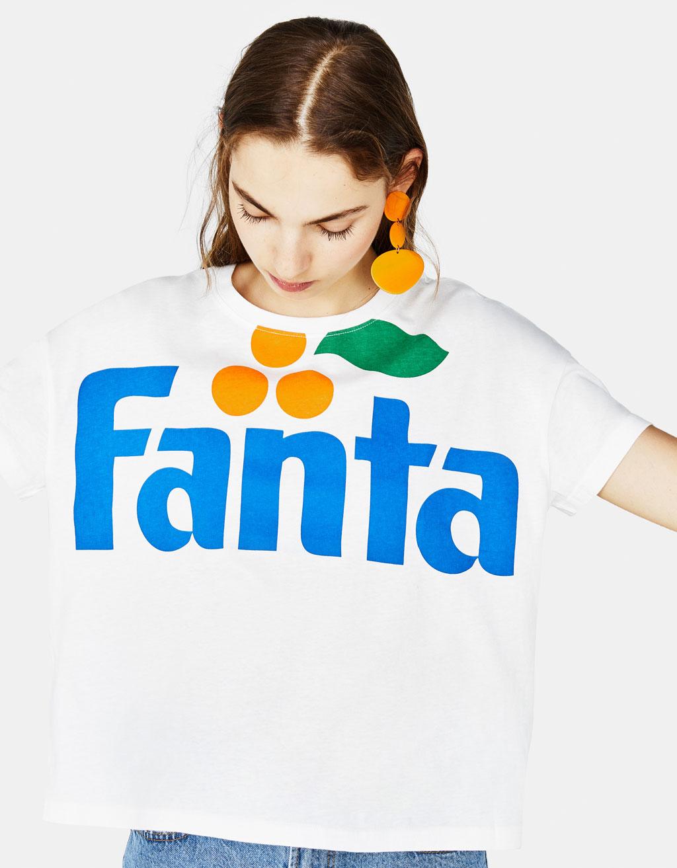 Join Life Fanta T Shirt by Bershka