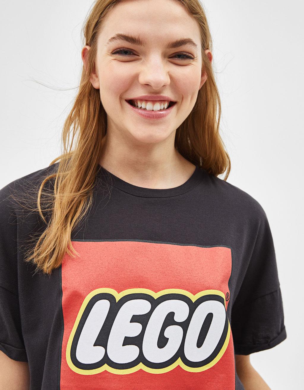 Футболка с принтом LEGO