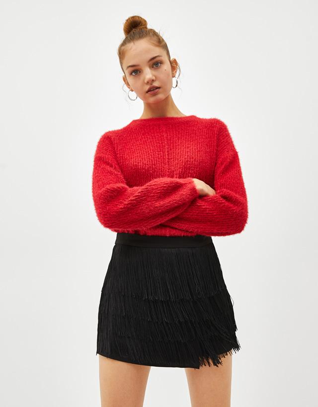 d693ca4c273eb Shorts pour femme - Automne-Hiver 2018   Bershka
