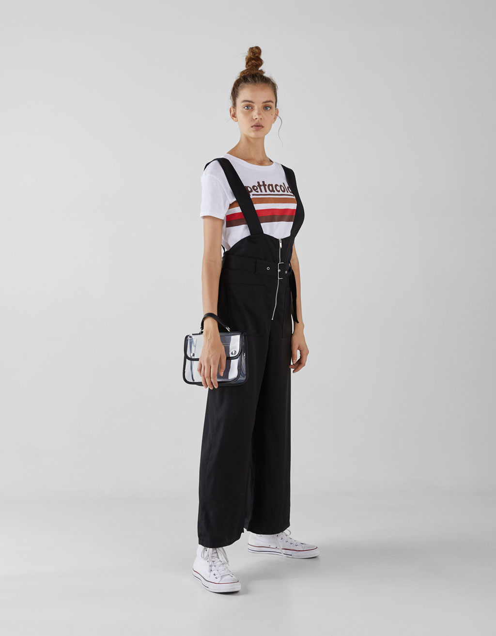 long-join-life-tencel®-strappy-overalls by bershka