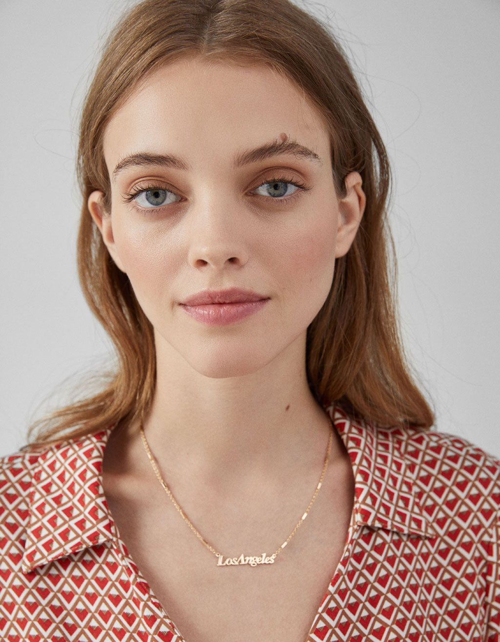 Los Angeles Necklace by Bershka
