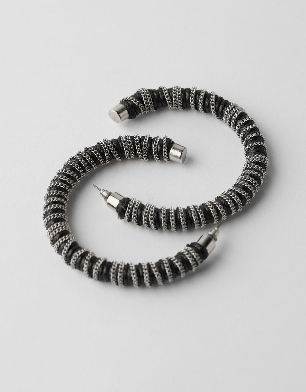 9c7c9b195c27 Chain earrings - Jewellery - Bershka Armenia