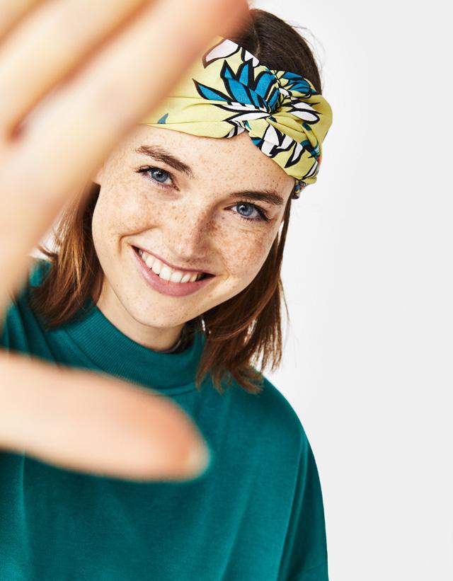 Tropisches Turban-Haarband