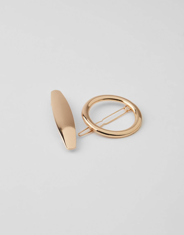 Geometric hair clip