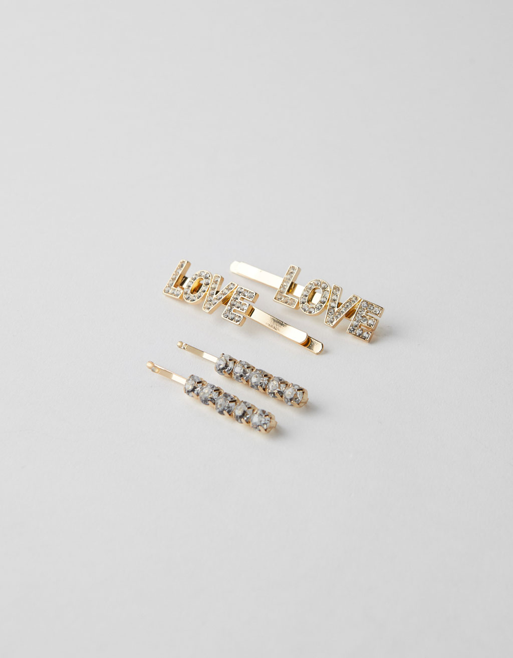 Diamanté bobby pins