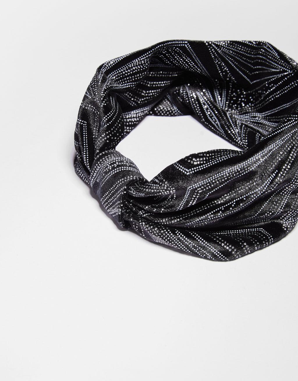 Velvet turban headband