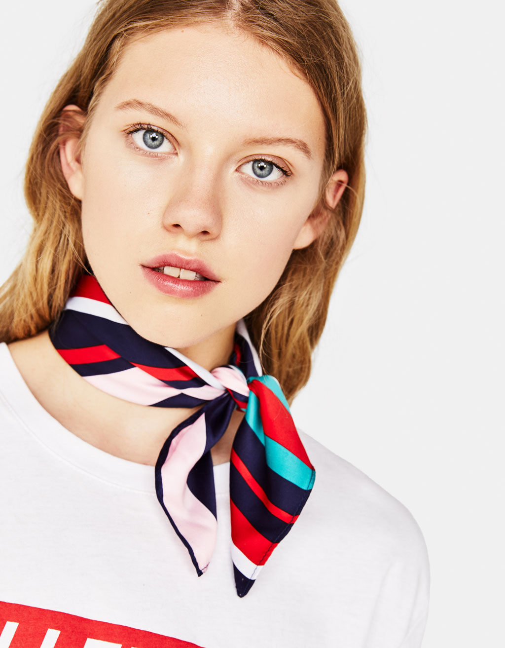 Striped neckerchief