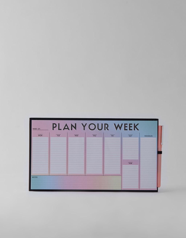Planificador semanal