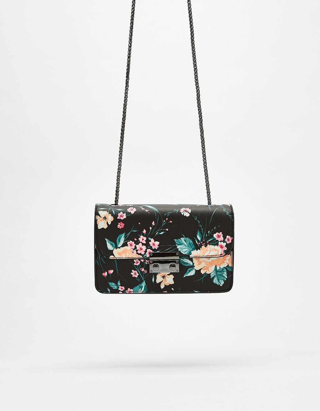 Bolso estampado mini lock