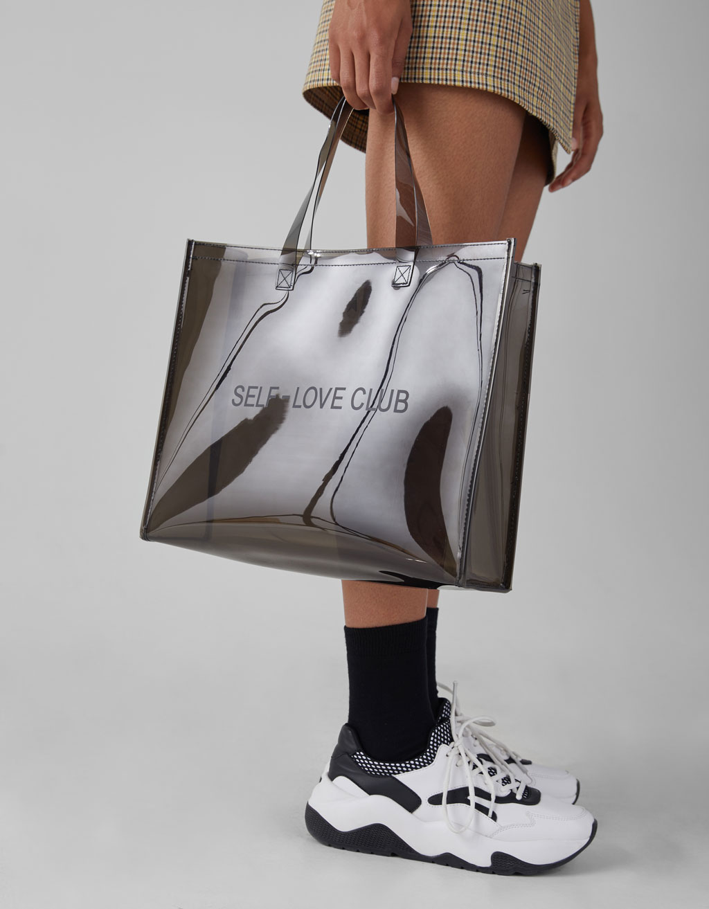 Transparent shopper