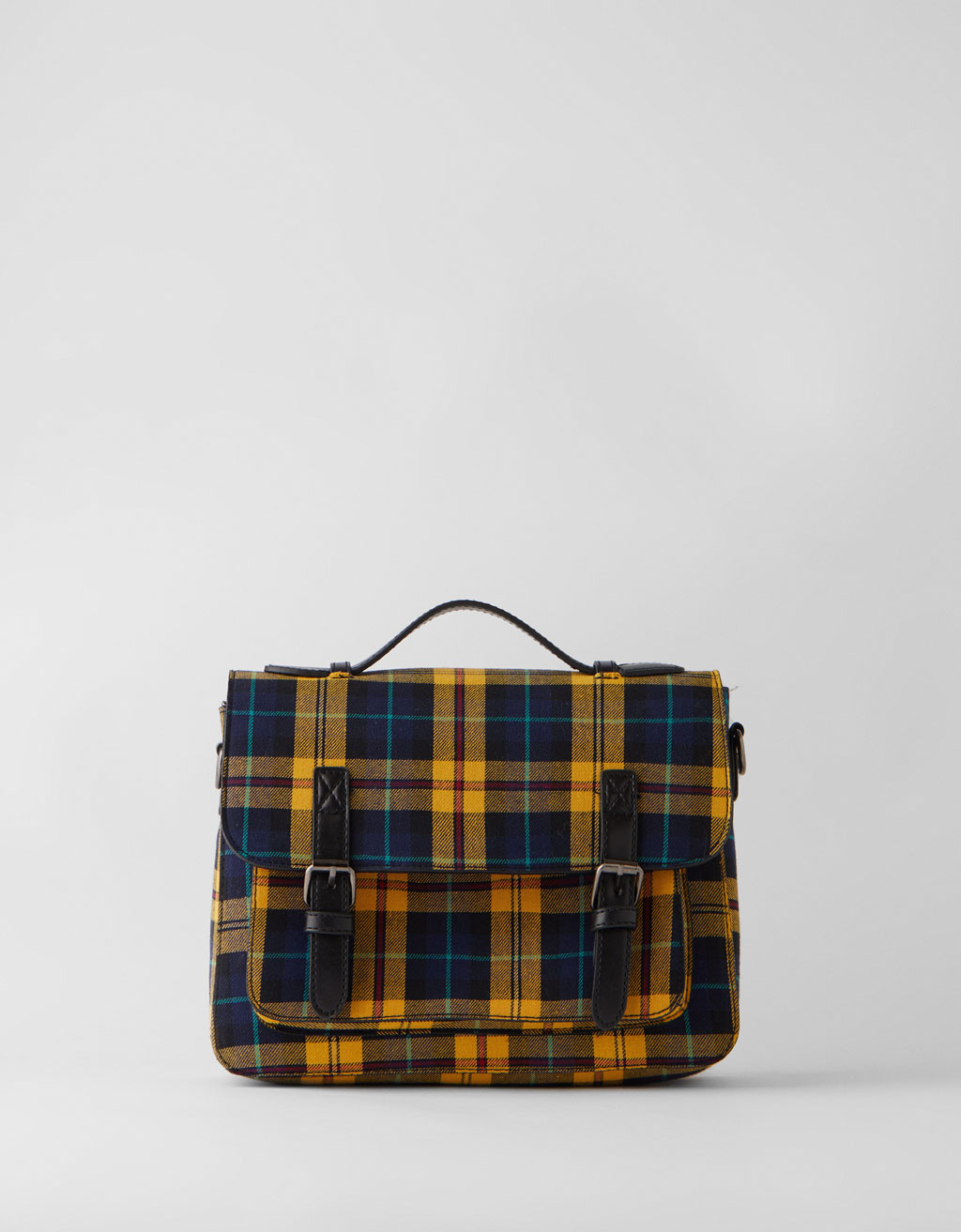 Plaid bag