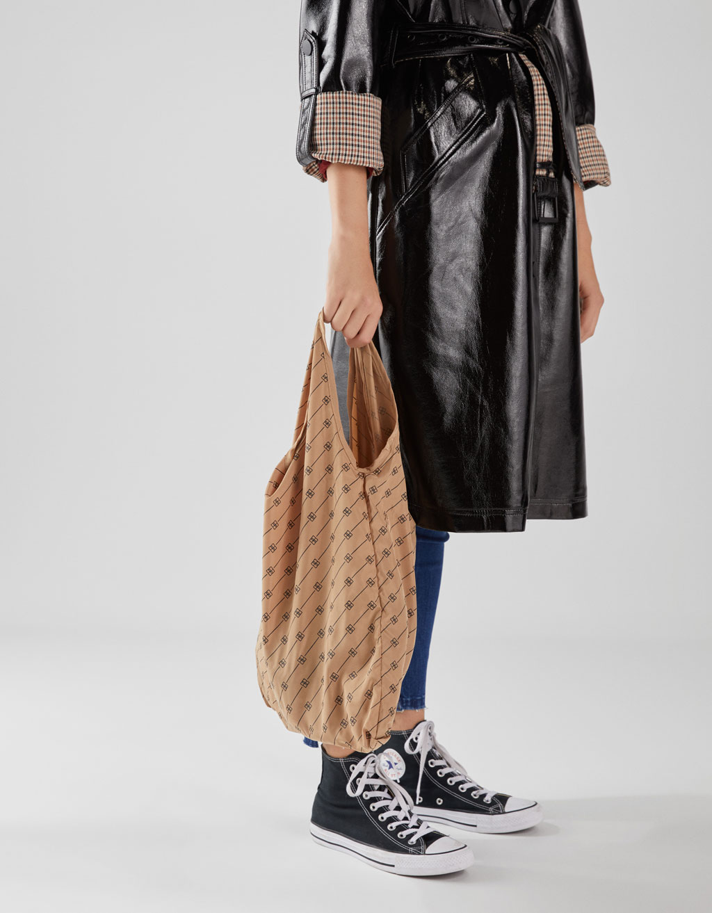 Mala Tote Bag Com Estampado by Bershka
