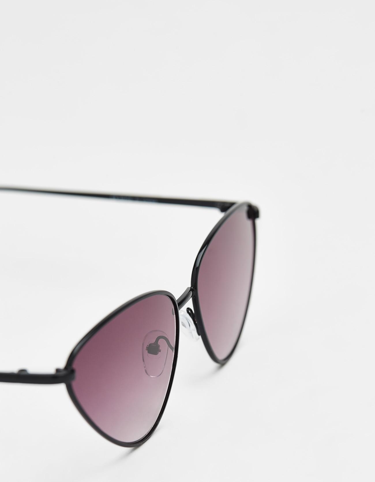 60d59f9dff37d1 Metallic retro bril - Jeans - Bershka Netherlands