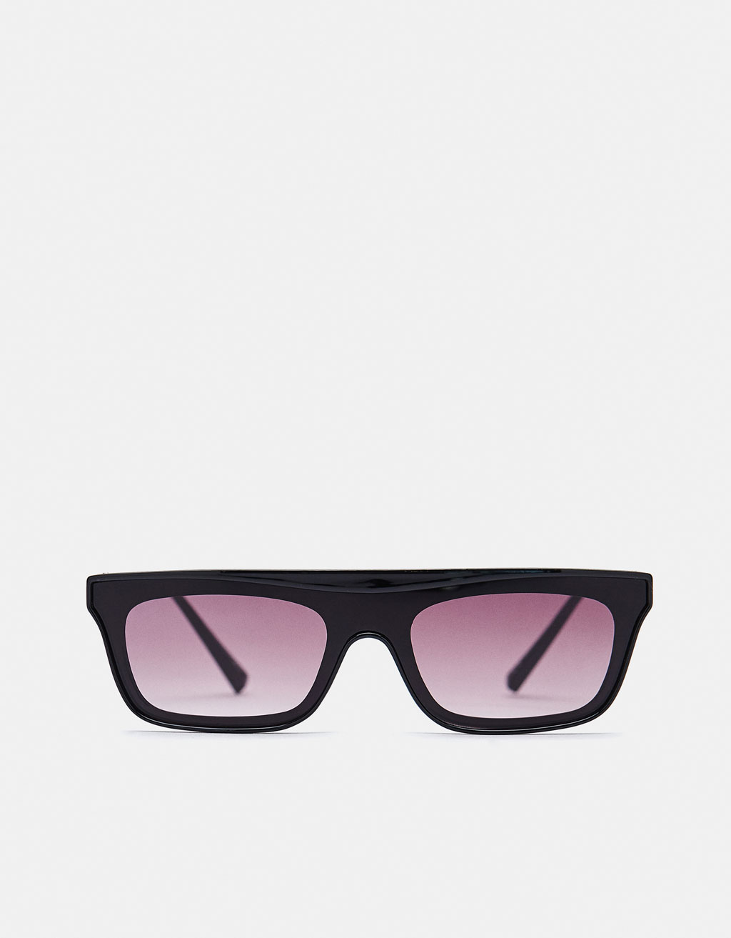 Glasses with metallic arms