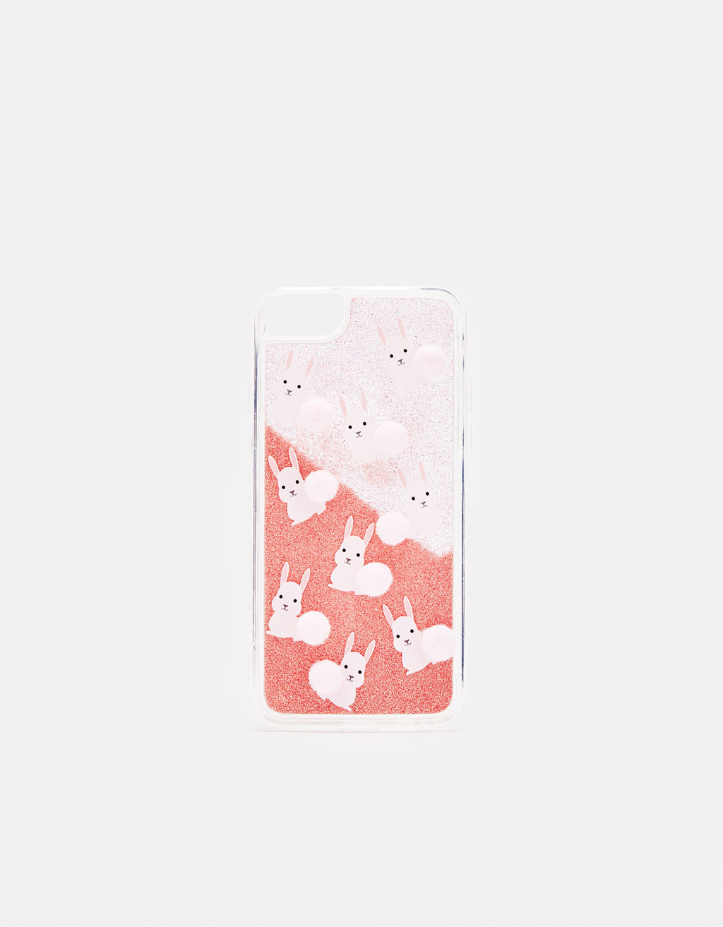 Cover iPhone 6 / 6s / 7 / 8 con pompon