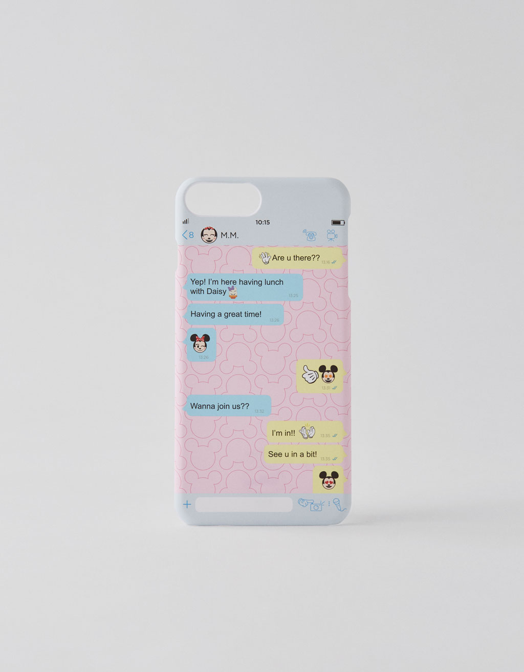 Cover iPhone 6 plus / 7 plus / 8 plus con Topolino