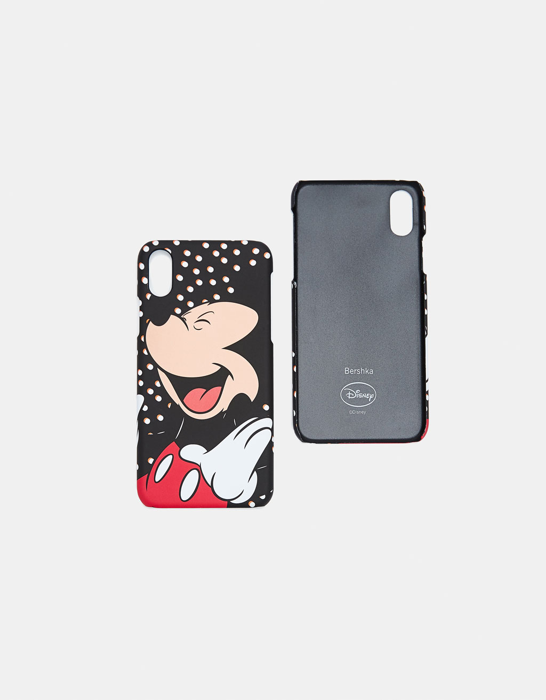 premium selection 77bba 6288b Mickey Mouse iPhone X case - iPhone Cases - Bershka Maroc