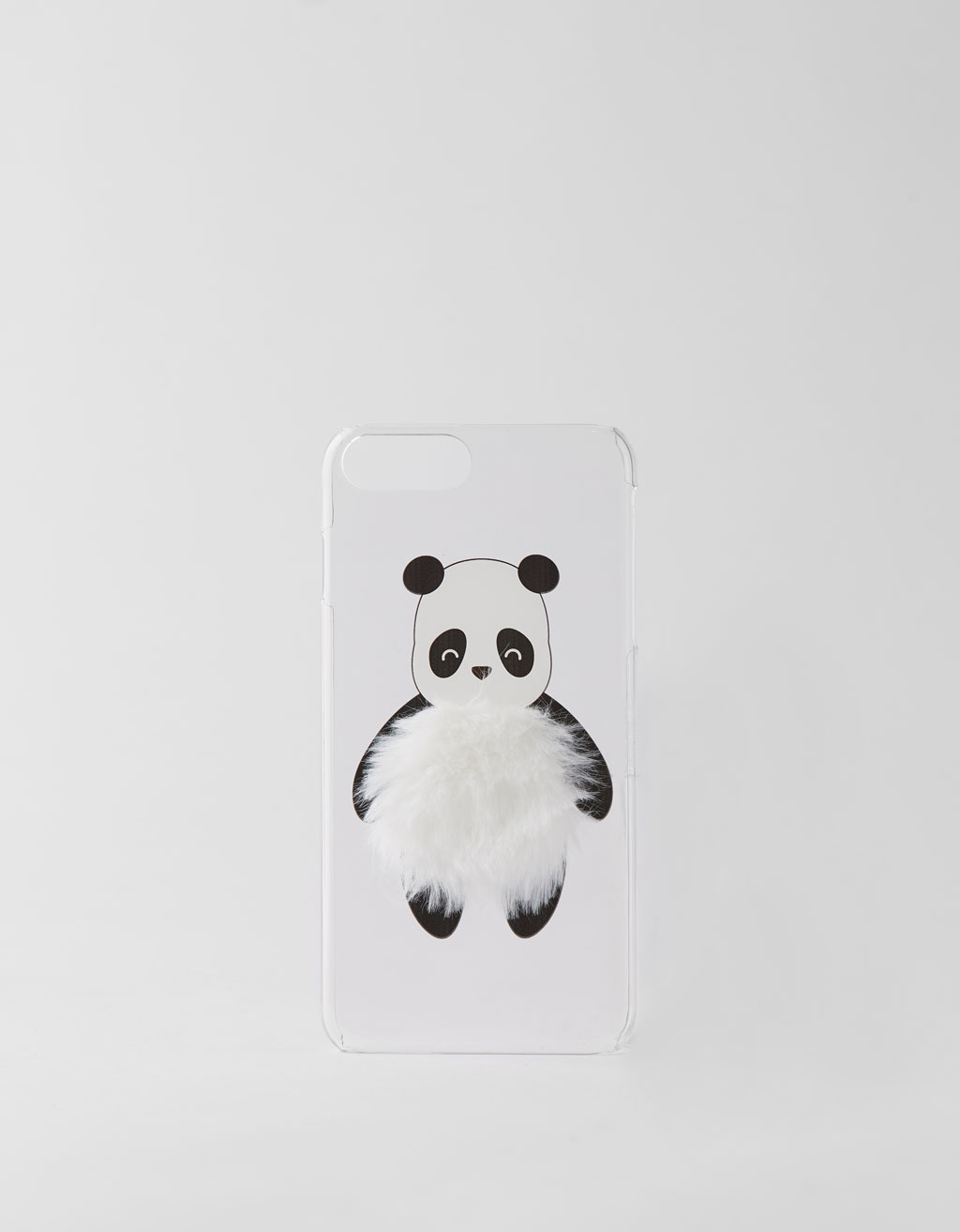 Cover med panda iPhone 6 plus / 7 plus / 8 plus