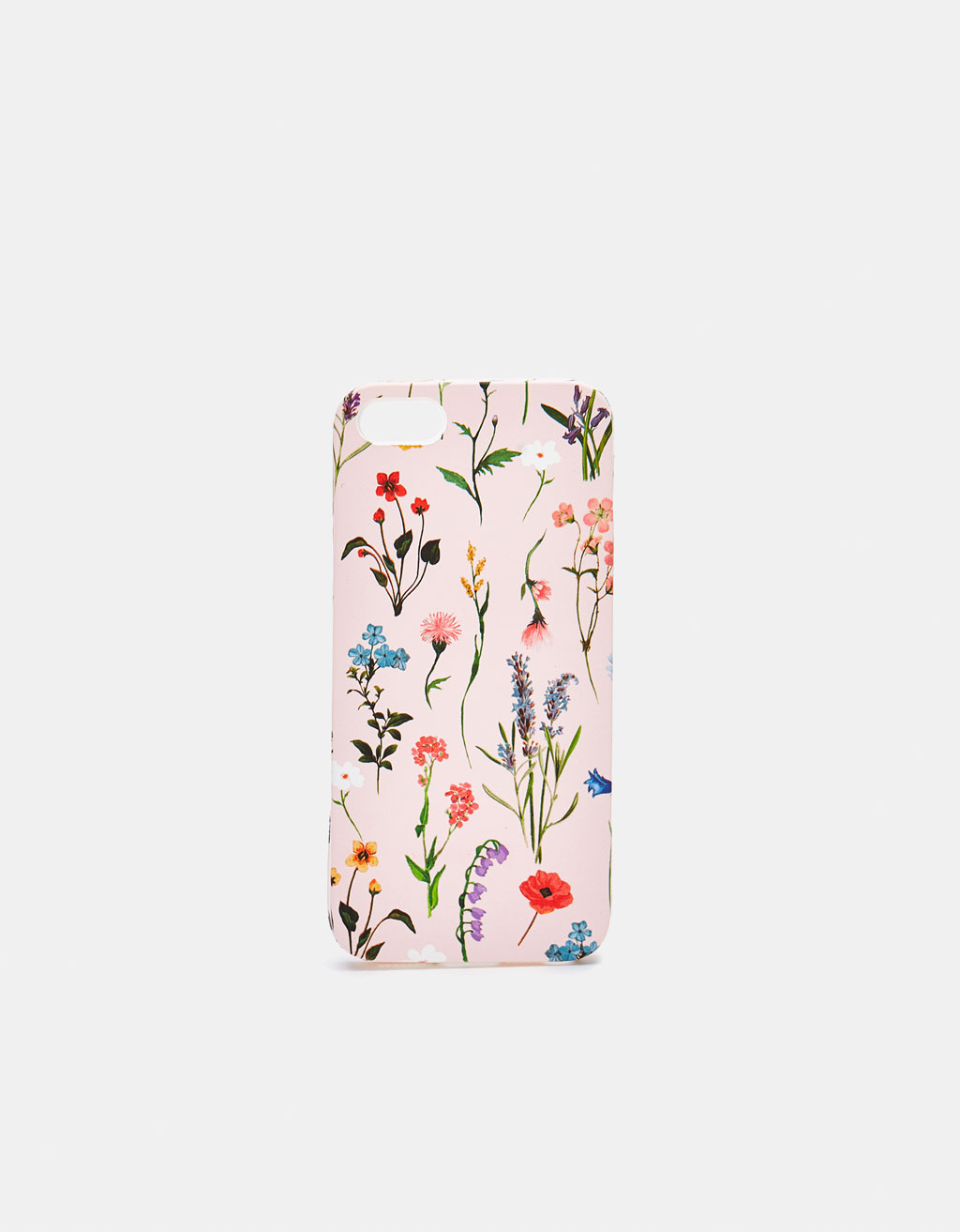 Capa com estampado floral iPhone 5/5s