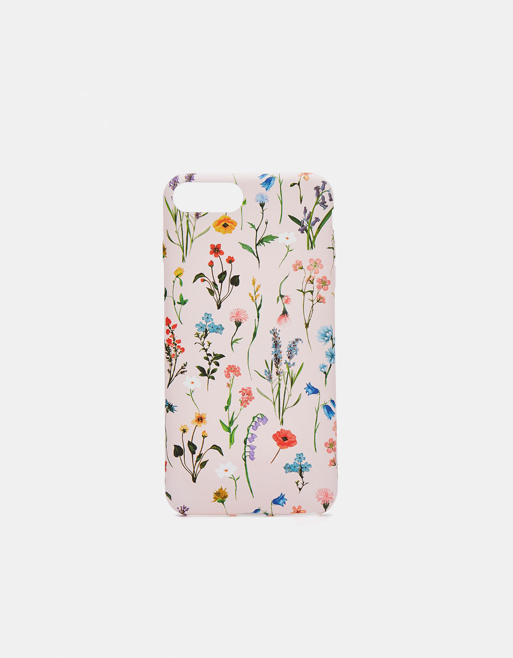 Capa com estampado floral iPhone 6plus/7plus/8plus