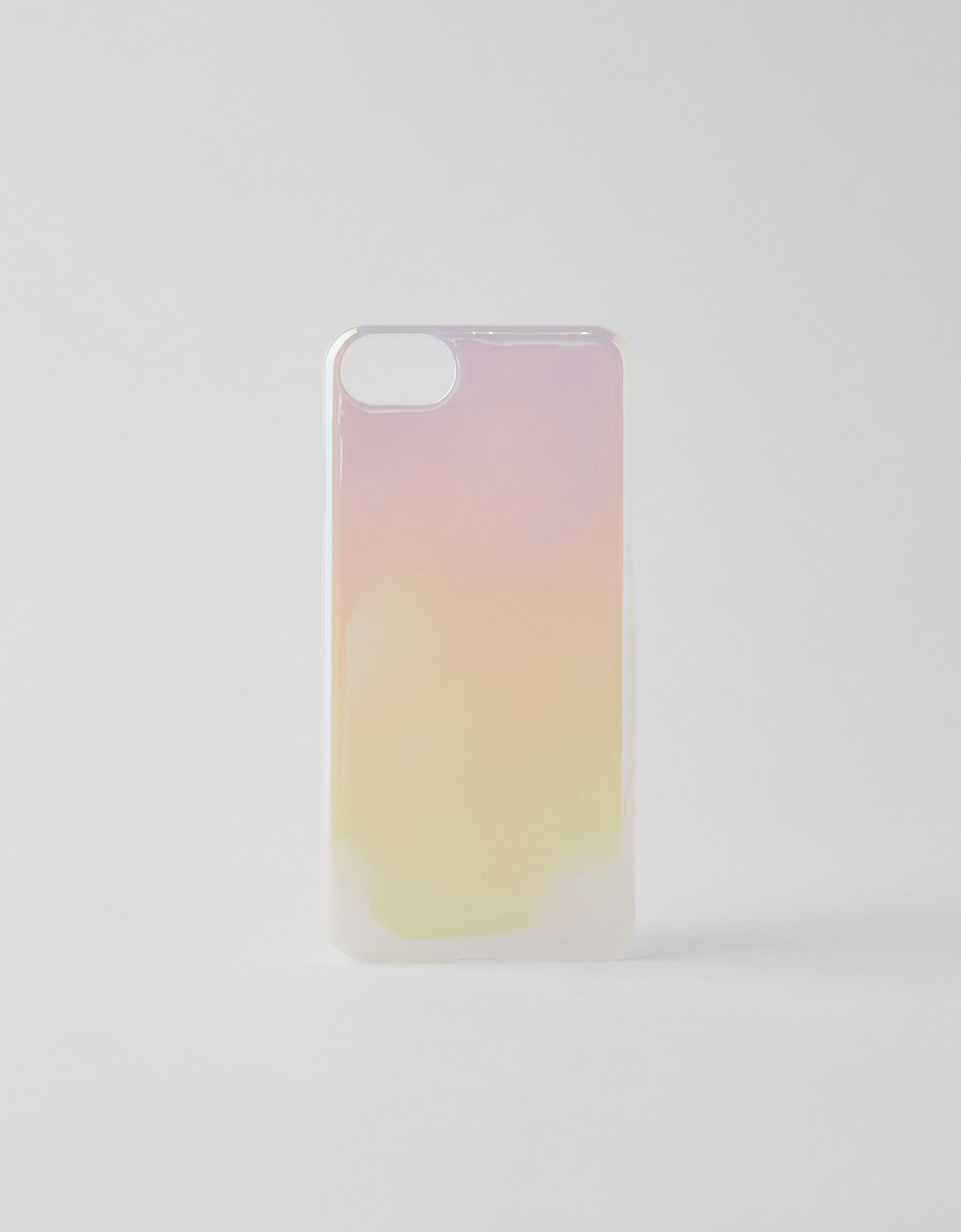 Cover iPhone 6/6s/7/8 iridescente