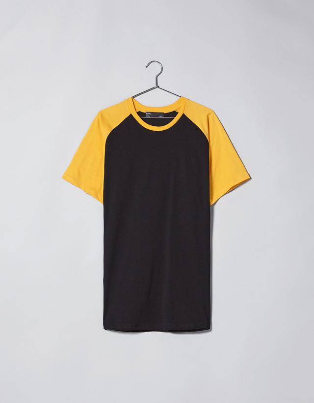 T-Shirt im Baseballstil