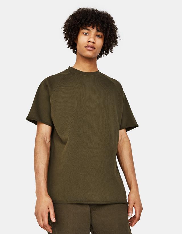 Shirt aus Sweatstoff
