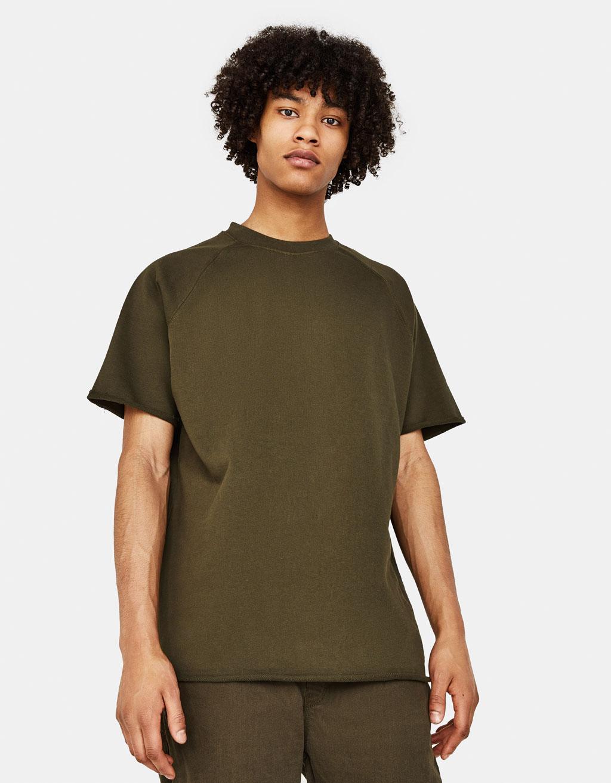 Plush jersey T-shirt