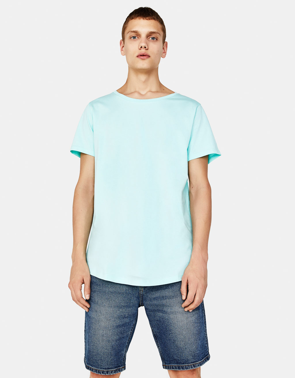 Tricou scoop neck