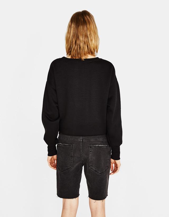 Jeans-Bermudashorts im Slim Fit Comfort
