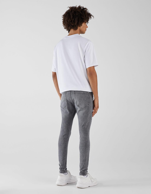 b0c11a419908 Super Skinny Fit Jeans - Midi - Bershka Lebanon