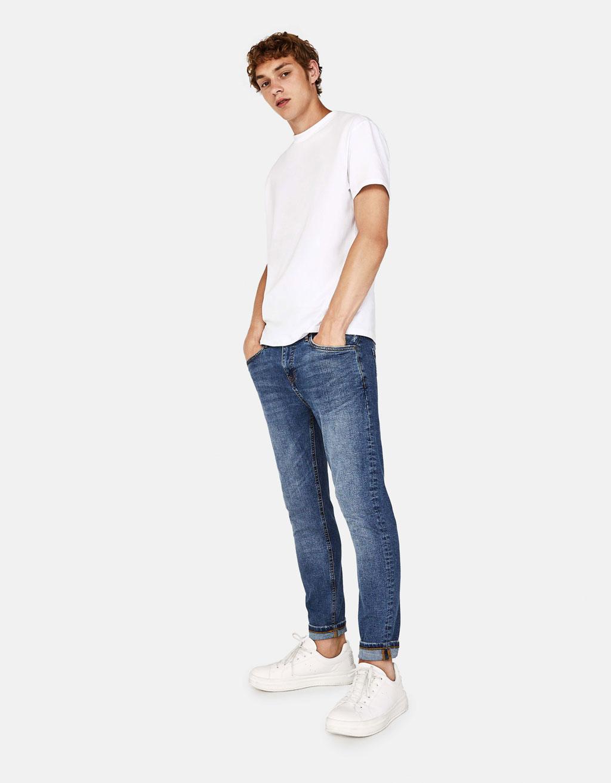 Jean (Kot) Pantolon Paçalarını Sıvama Trendi