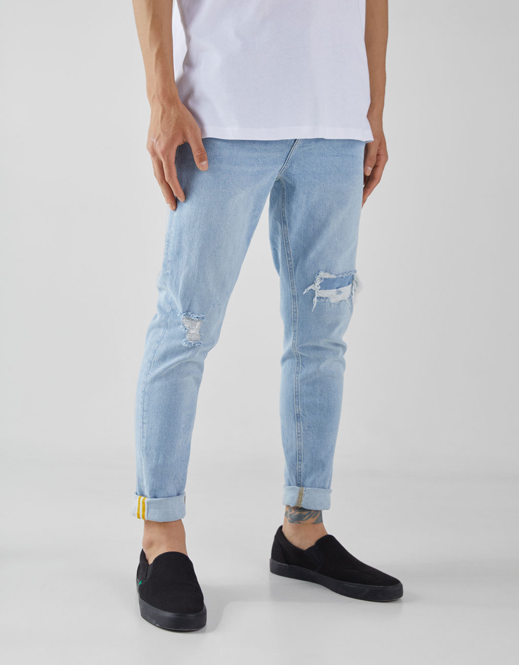 Jeans Carrot Fit Hombre Ultimo Coche