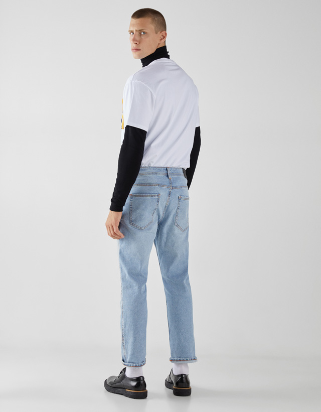 Cropped-Jeans im Straight-Fit Join Life
