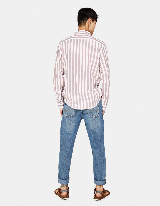bcbb5508860 Slim fit jeans - Shirts - Bershka Turkey