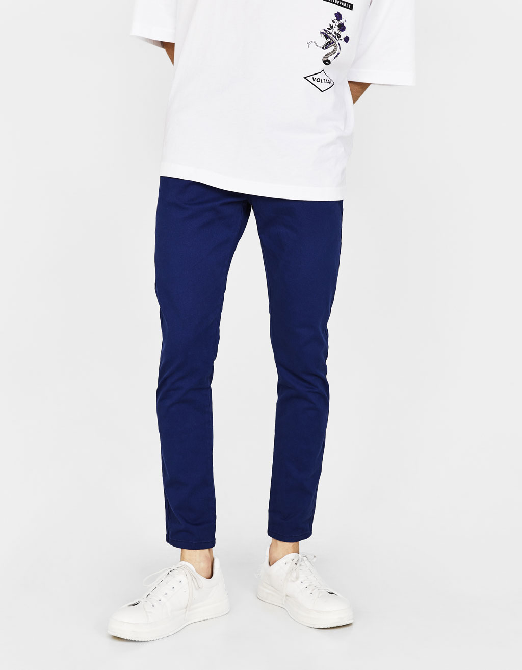 Skinny trousers with 5 pockets
