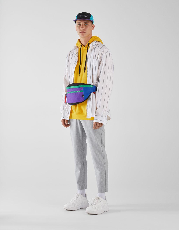 Pantalon style tailleur