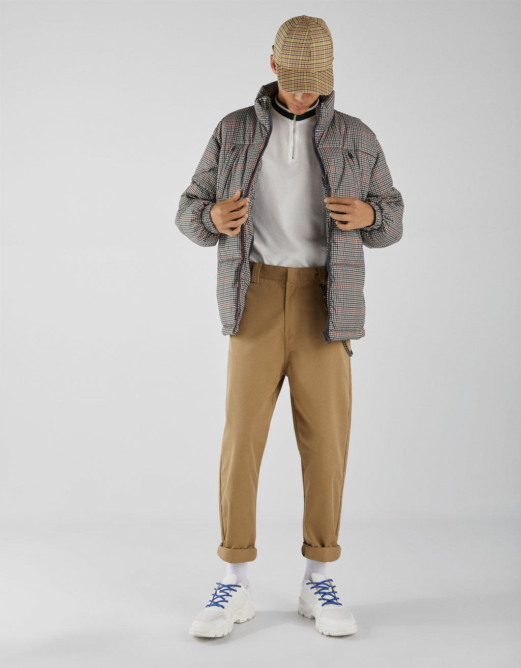 Worker-style trousers