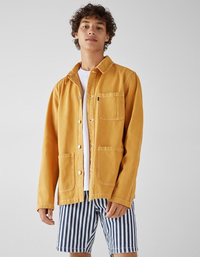 Hemdjacke mit Taschen