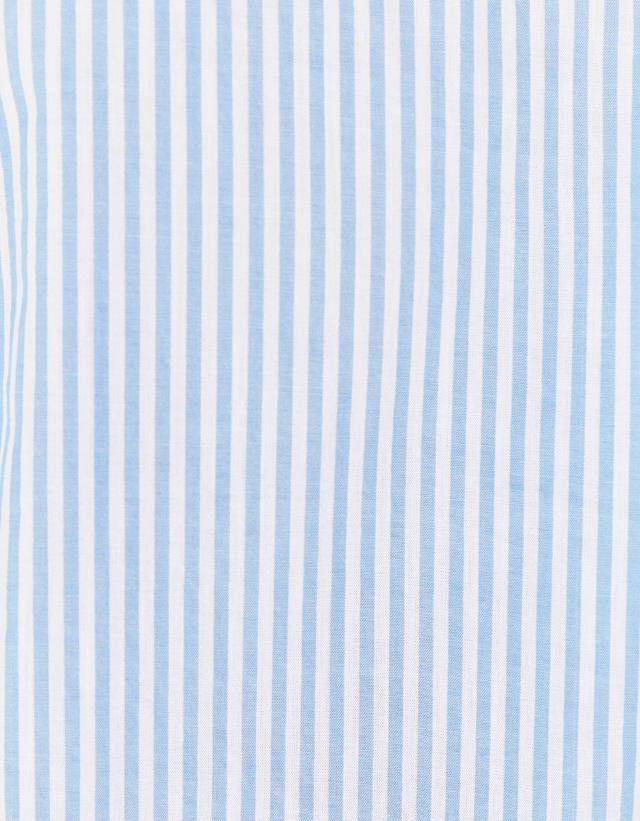 Langärmeliges Baumwollhemd