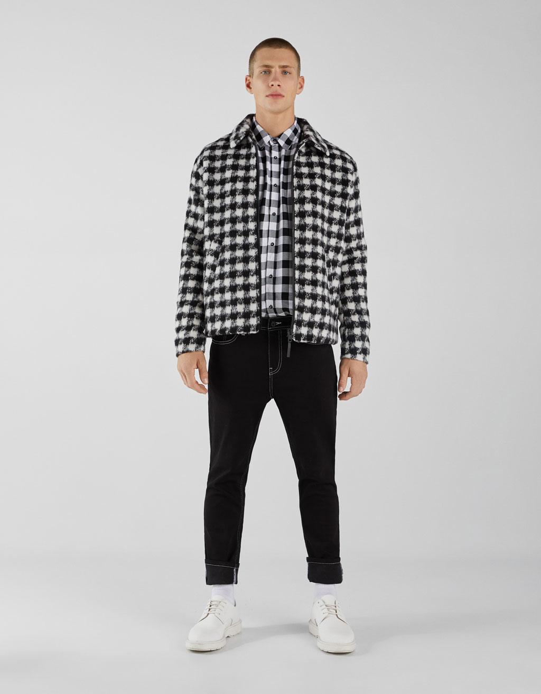 Check plaid shirt