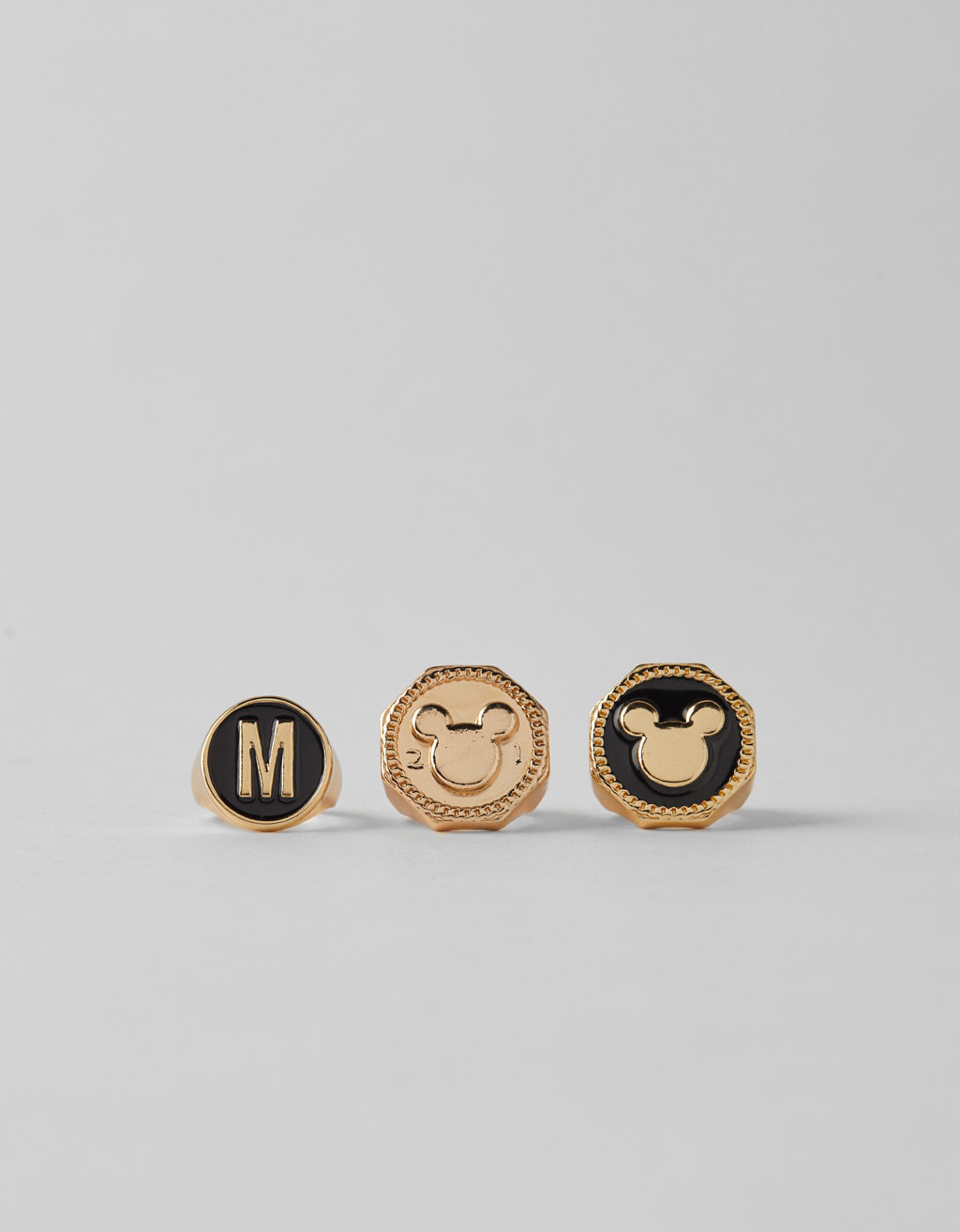 Set of 3 Mickey Mouse rings